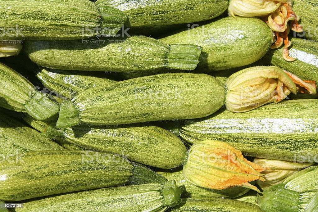Healthy Courgette royalty-free stock photo