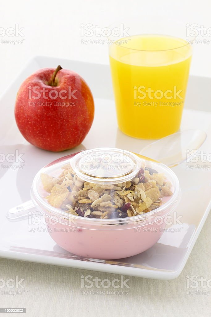 Healthy delicious and nutritious  meal stock photo