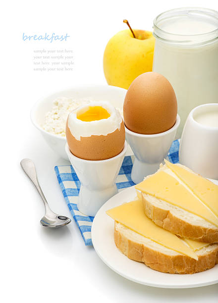 Healthy delicious breakfast stock photo