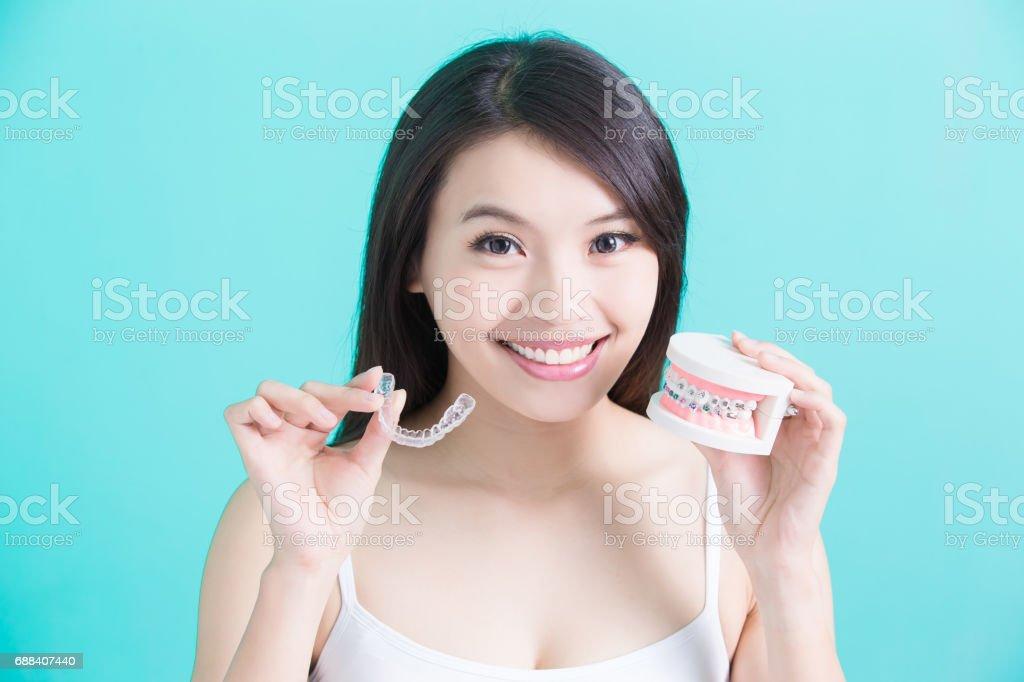 healthy dental concept stock photo