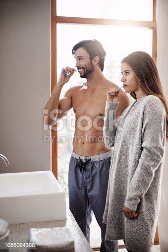 874030164 istock photo Healthy dental habits start at home 1055064366