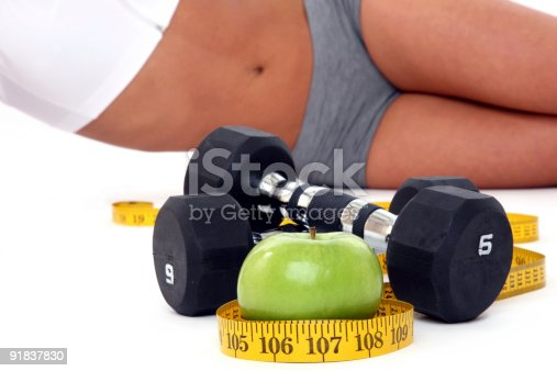 istock Healthy diet and exercise 91837830