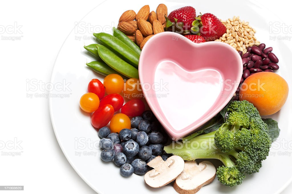 Healthy diet and nutrition royalty-free stock photo