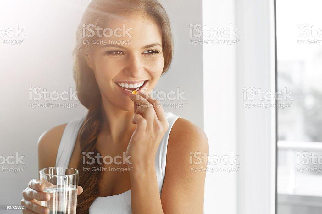 Dieta saludable. Nutrition. Las vitaminas. La comida saludable, estilo de vida. foto de stock libre de derechos