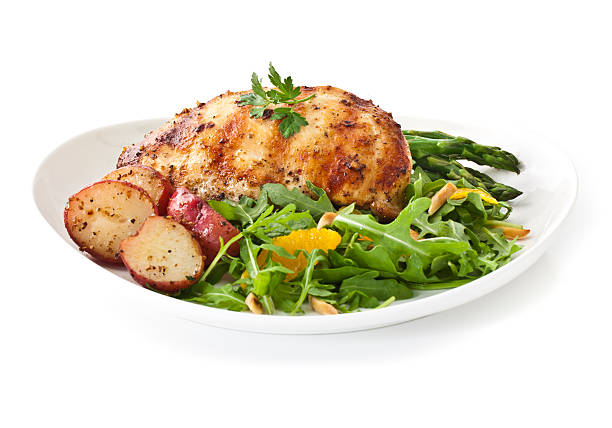 Healthy Dinner  main course stock pictures, royalty-free photos & images