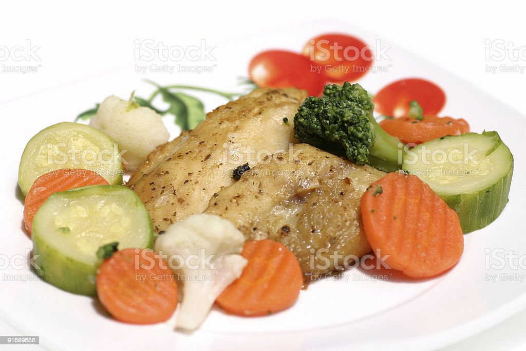 healthy dish royalty-free stock photo