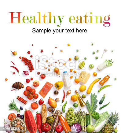 istock Healthy eating background 496610368