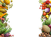 健康的な食事の背景。