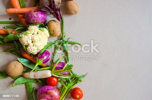 istock Healthy eating background 988672156