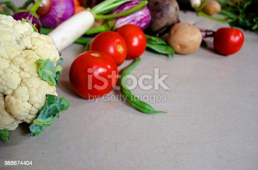 istock Healthy eating background 988674404