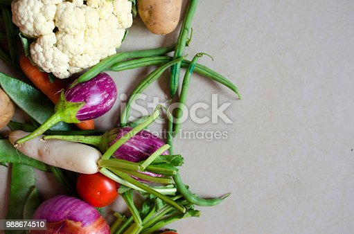 istock Healthy eating background 988674510