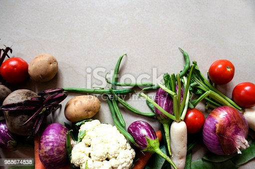 istock Healthy eating background 988674838