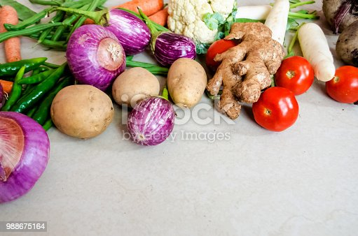 istock Healthy eating background 988675164