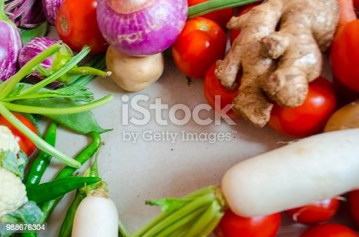 istock Healthy eating background 988676304