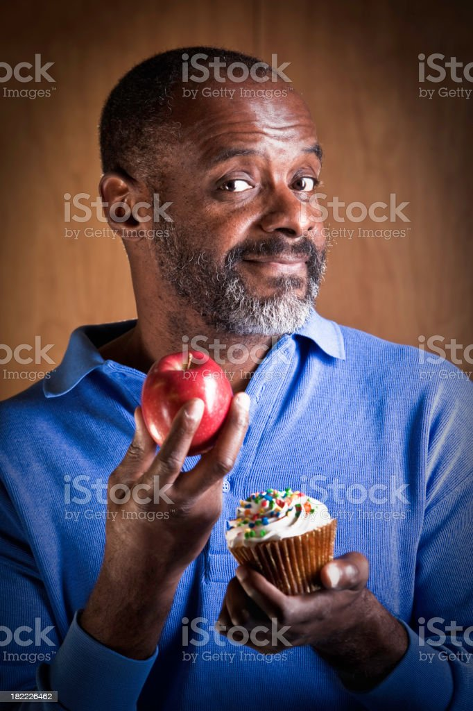 Healthy Eating Choices royalty-free stock photo