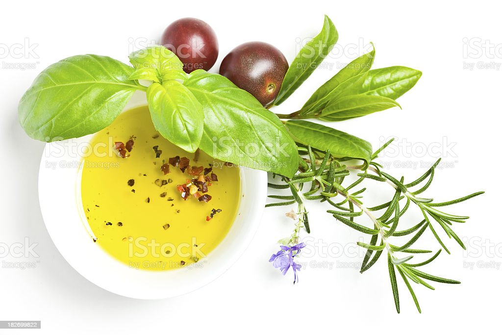 Healthy eating - Herbs royalty-free stock photo