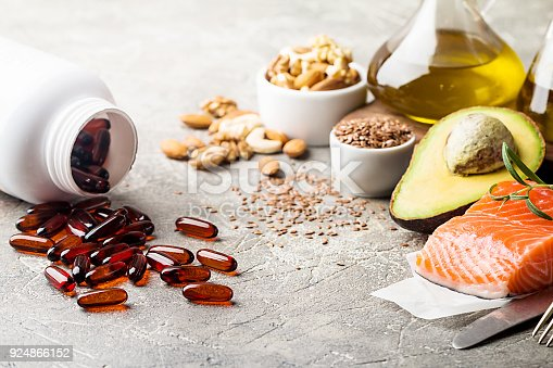 istock Healthy fats in nutrition. 924866152