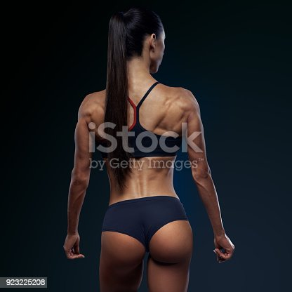 istock Healthy fit strong womans back 923225208
