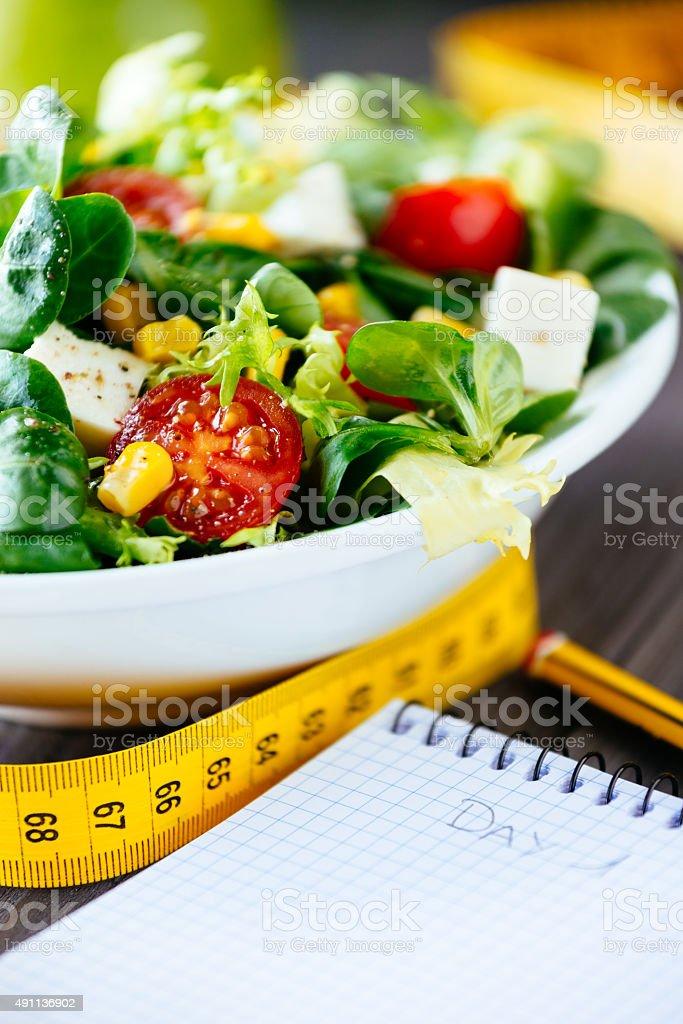 Gesunde Ernährung und fitness lifestyle-Magazin – Foto