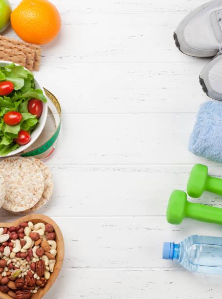 Gesundes Ernährungs- und Fitnesskonzept – Foto