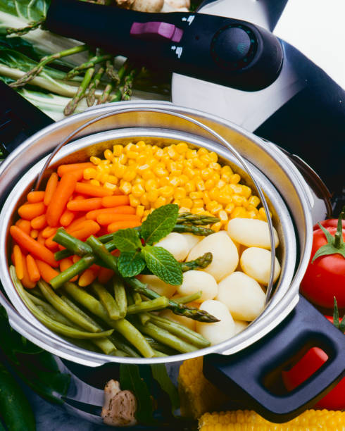 Healthy food. Assorted vegetables stock photo