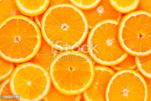 Healthy natural food, background. Orange