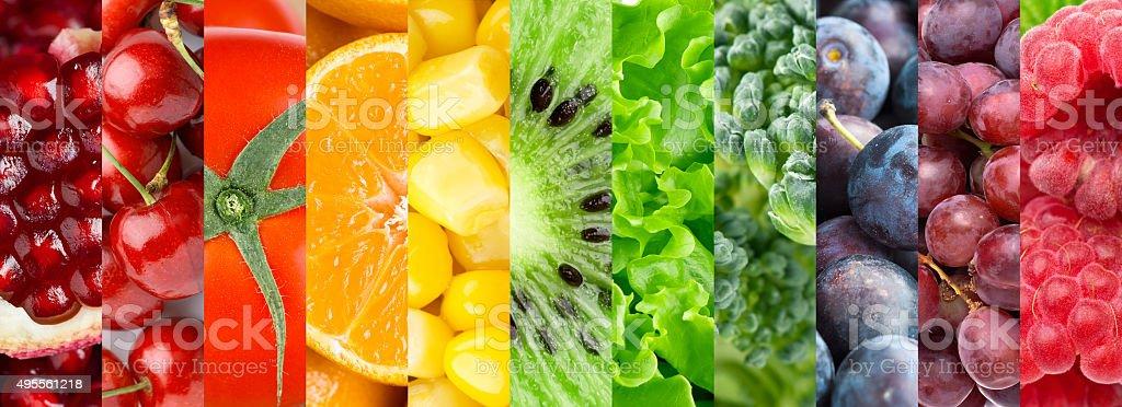 Gesundes Essen Hintergrund – Foto