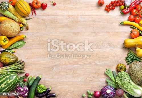 istock Healthy food background 497407874