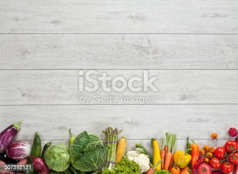 istock Healthy food background 507212121