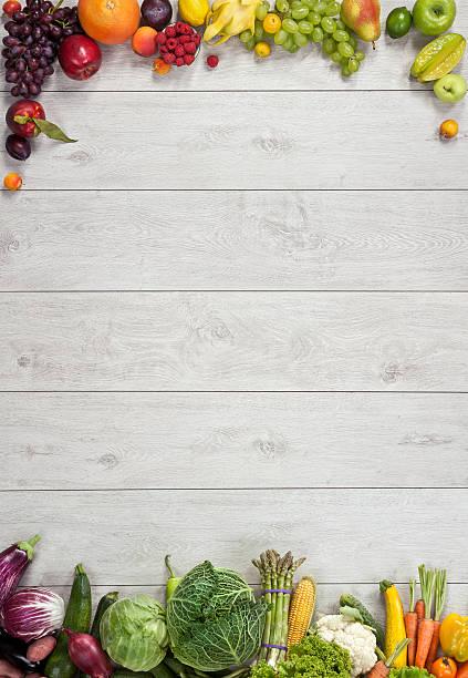 gesundes essen hintergrund - gemüsefond stock-fotos und bilder