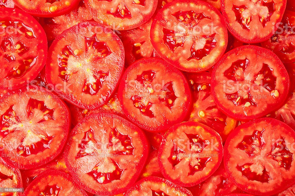 Healthy food, background. Tomatoes stock photo
