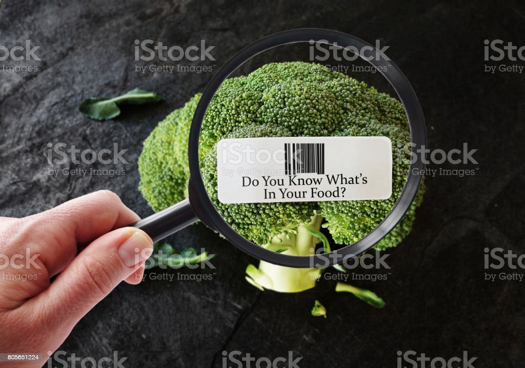 Healthy food concept stock photo