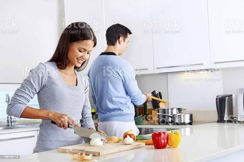 healthy food cook royalty-free stock photo