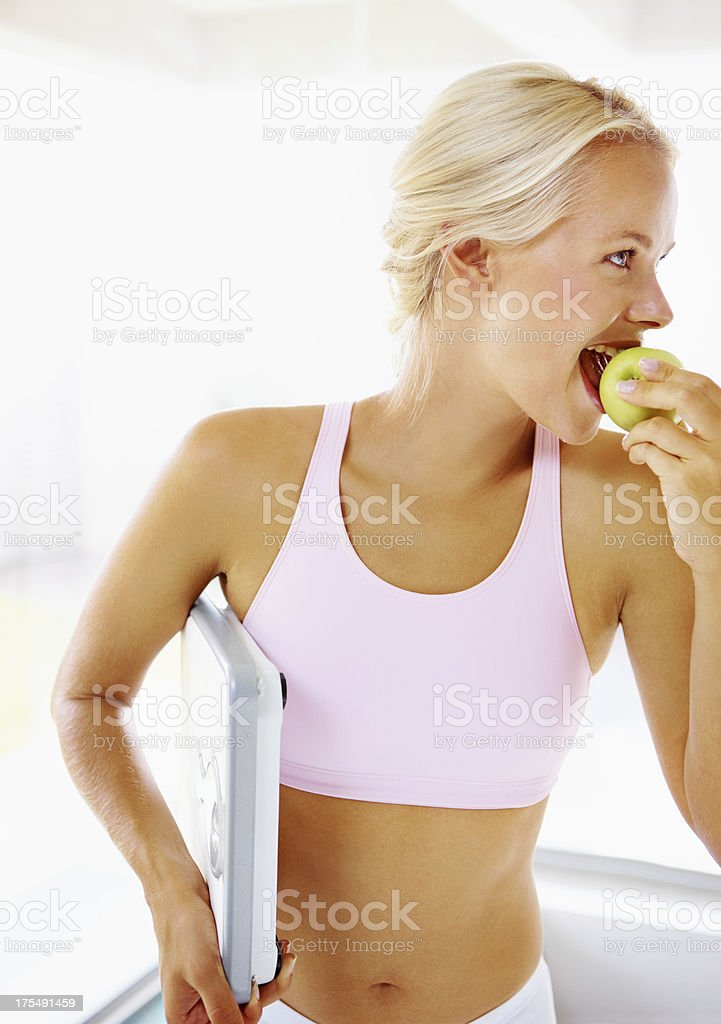 Healthy food doesn't have to be tasteless stock photo