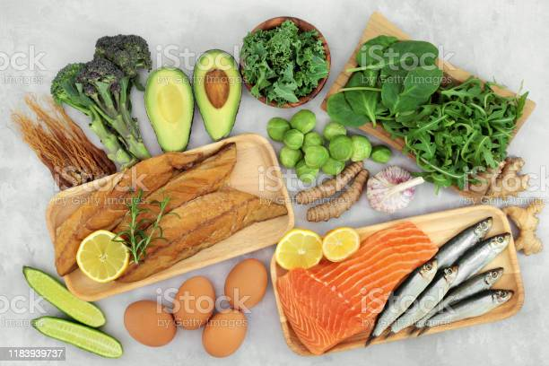 Healthy Food For Asthma Sufferers Stock Photo - Download Image Now