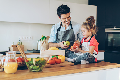 istock Healthy food for the family 635845954