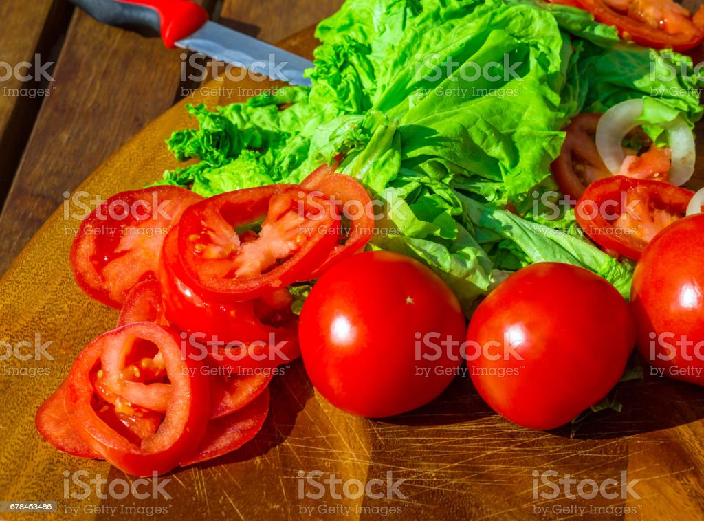 Healthy food from village royalty-free stock photo