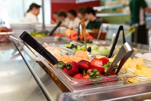 Healthy food in a cafeteria picture id174943726?b=1&k=6&m=174943726&s=612x612&w=0&h=ihzwupzrts3 vimbgvfh7kvho4frijampqdijruyht8=