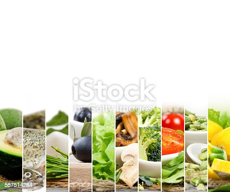 istock Healthy Food Mix 587514284