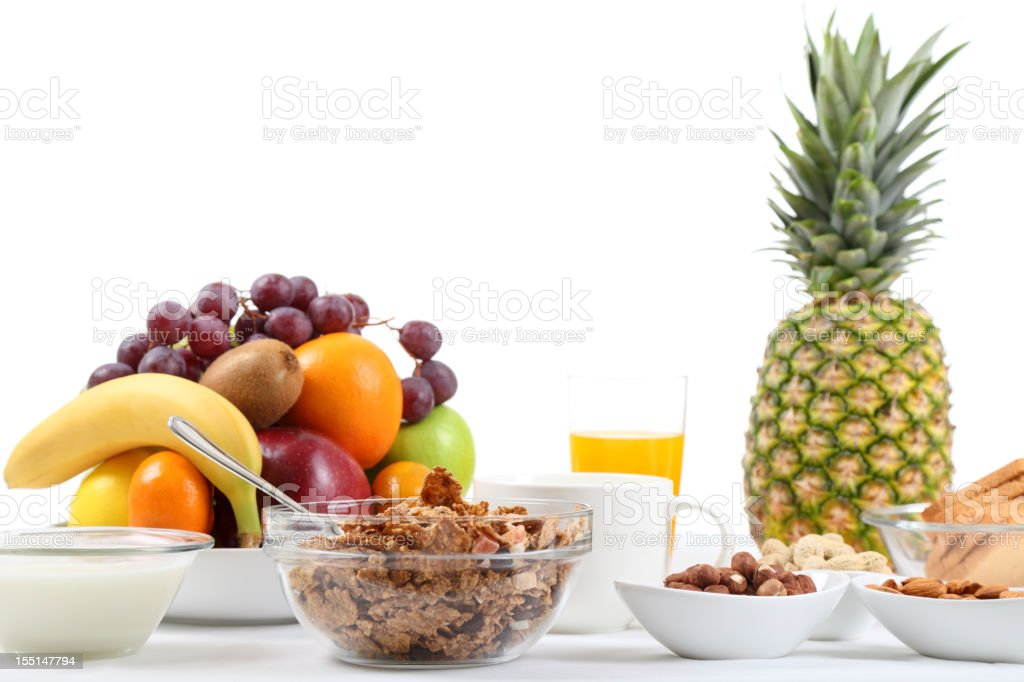 Healthy food on the table royalty-free stock photo
