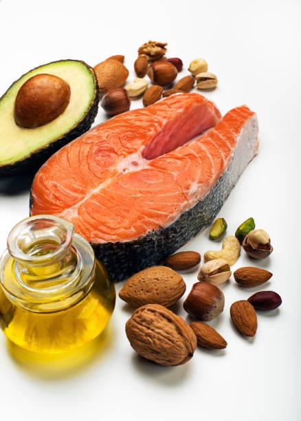 健康的食物 - 脂肪 營養 個照片及圖片檔