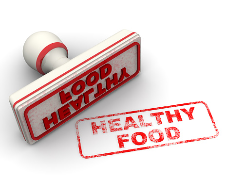 1181637623 istock photo Healthy food. Seal and imprint 1157432917