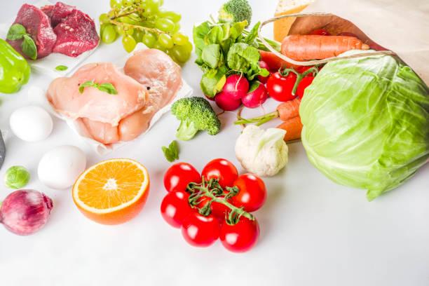 Gesundes Konzept für Lebensmitteleinkäufe – Foto