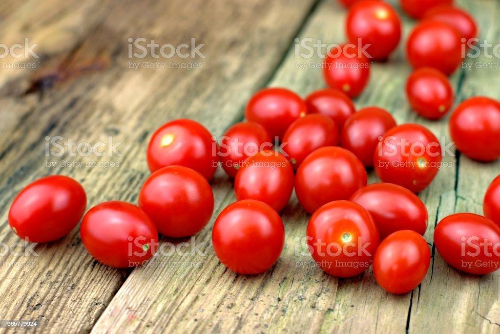 Healthy food, tomatoes and vegetable concept. - Royalty-free Alimentação Saudável Foto de stock