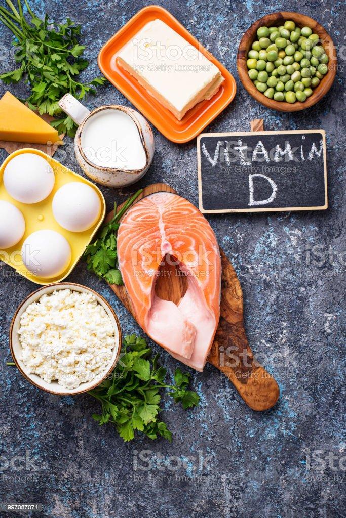 Que vitamina d contienen alimentos