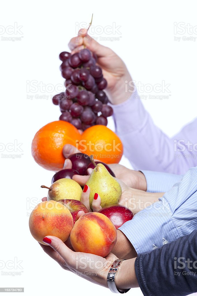 Healthy fruit choice royalty-free stock photo
