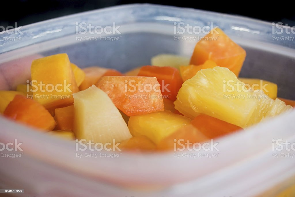 healthy fruit salad mix royalty-free stock photo