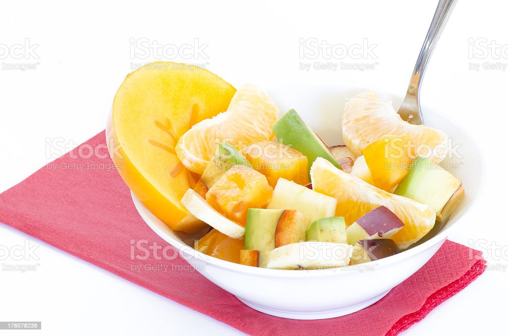 Healthy Fruit Salad royalty-free stock photo