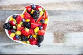 健康的なフルーツサラダ