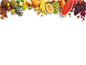 健康的なフルーツの背景。